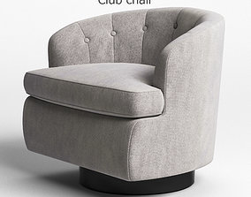 3D model Horseman Antiques Club Chair