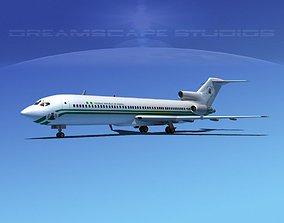 Boeing 727-200 Nigeria 3D