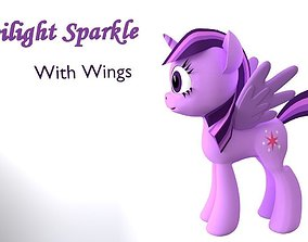 My Little Pony TwilightSparkle With Wings VR / AR ready 1