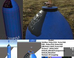 3D model oxygen balloon