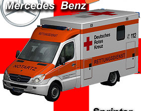 Mercedes-Benz Sprinter Medical 3D asset