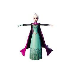 3D printable model Elisa ice queen