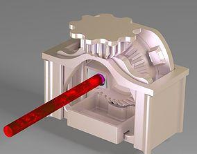3D printable model Rotary pencil shaperner