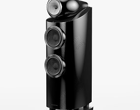 Bowers and Wilkins 802 D3 Gloss Black 3D