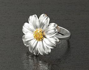 3D printable model fashion-ring BELLIS Ring RG0021