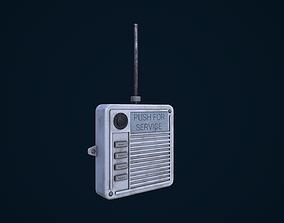 Old Intercom 3D model