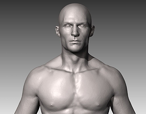Realistic White Male and Female Bundle 3D