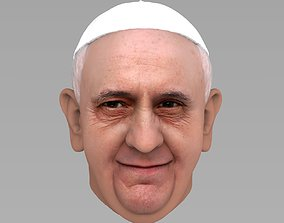 3D Pope Francis