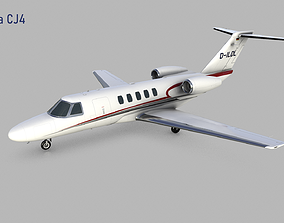 3D Cessna Citation CJ4