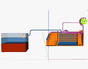 TECS steam 2 3D print model