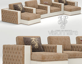 Sofa Luminere IPE Cavalli Visionnaire 3D model