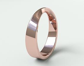 Ringmodel103 - Wedding ring - Mobius ring precious