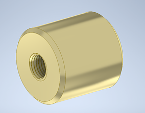 Reducer between G and M thread 3D printable model