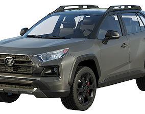 3D Toyota RAV4 TRD Off-Road 2020