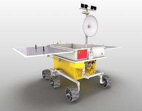 YuTu Jade Rabbit Lunar rover lunar rover apollo 3D