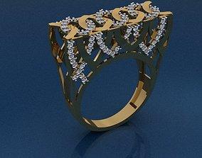 rings Gold Ring 3D print model 3D print model