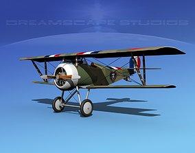 Nieuport 17 V01 France 3D model