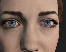 female Drdr 3D asset