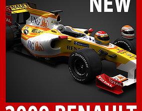 3D model F1 2009 ING Renault R29