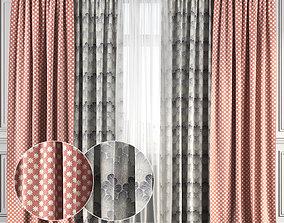 3D Curtain Set 137