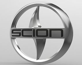 scion logo high 3D model