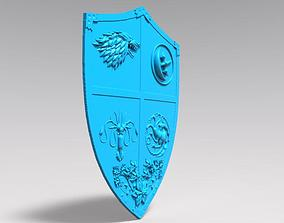3D printable model Game of thrones shield