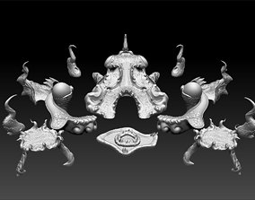 3D printable model Lurking Below Bundle 1 - The Lurkers