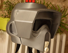 3D print model WEARABLE FULL SIZE SCOUT TROOPER HELMET 3