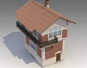 Building 01 bldg 3D model