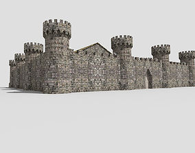 medieval castle 3 3D model