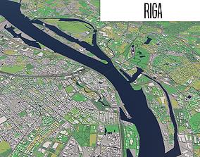 3D model Riga Latvia