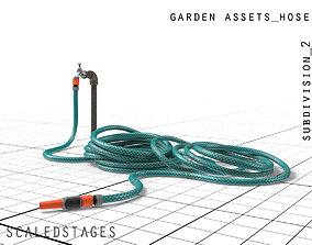 garden hose 3D asset