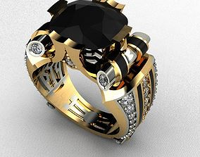 Male Ring Luxury 3D print model