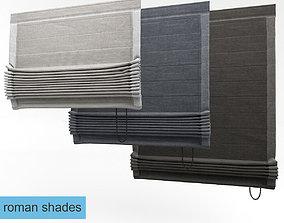 roman Roman shades 3D model