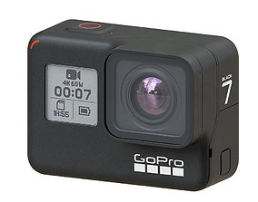 GoPro Hero 7 black 3D model photo