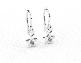 earrings for girls 3D print model