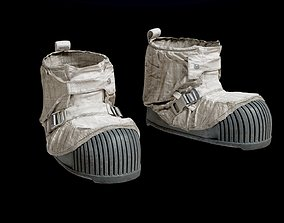 SPACESUIT NASA APOLLO 11 BOOTS 3D PBR