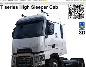 3D model Renult truck T High Sleeper Cab
