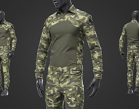 3D model Army Tactical Camouflage Military