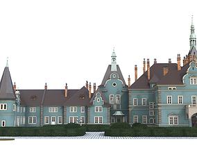 Shemborn Castle - version with non-detailed 3D model