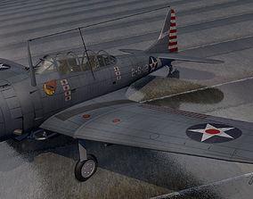 Douglas SBD-3 Dauntless 3D model