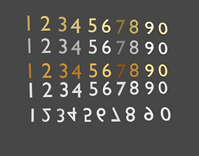 Numbers 3D