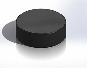 Hockey Puck 3D print model