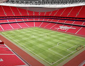 The Emirates Stadium - Arsenal Emirates 3D asset