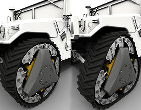RWT Reconfigurable Wheel Track 3D model