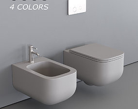 3D model Esedra by SDR Ceramiche Revolution Wall-hung 2