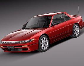 Nissan Silvia K S13 1989 1994 3D