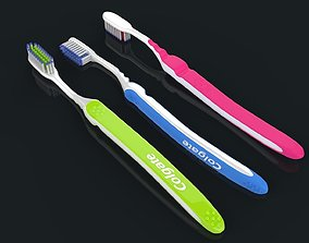 3D model ToothBrush With ToothPaste