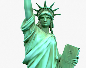 3D model Statue Of The Liberty york