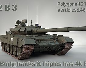 3D model T-72 B 3